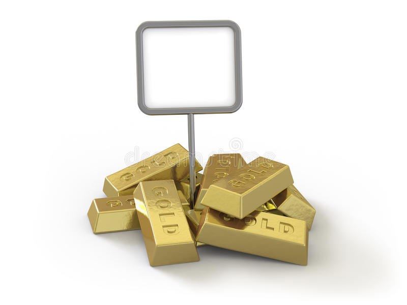 Oro stock de ilustración