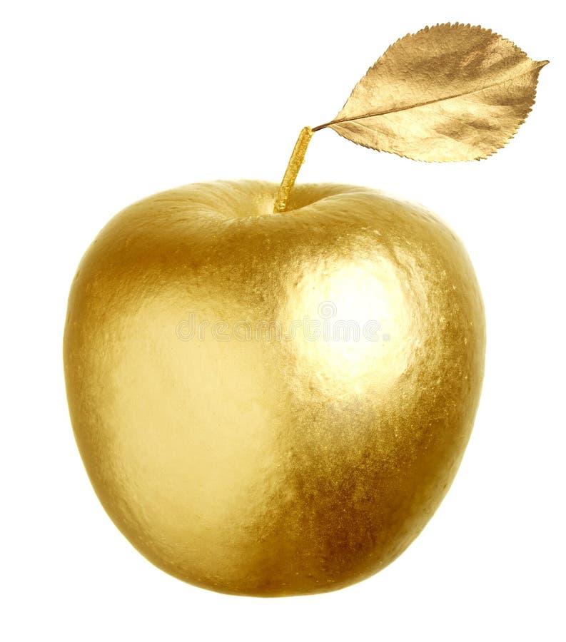 Oro Apple foto de archivo