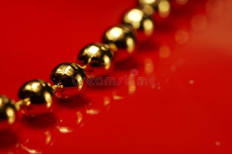 Oro ball_001 fotografie stock
