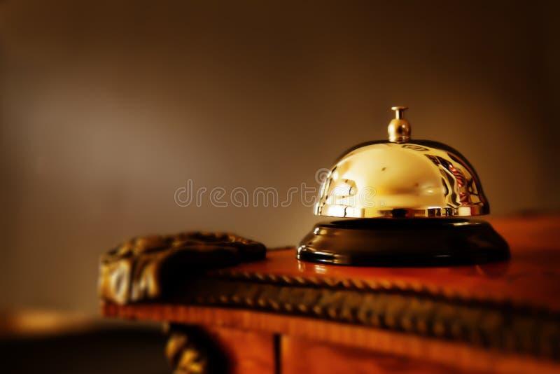 Oro Bell imágenes de archivo libres de regalías