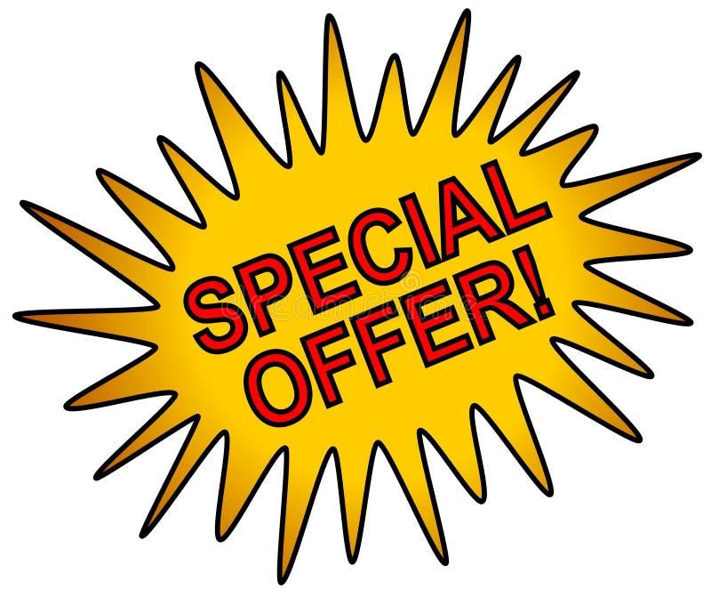 Oro del icono del Web de la oferta especial