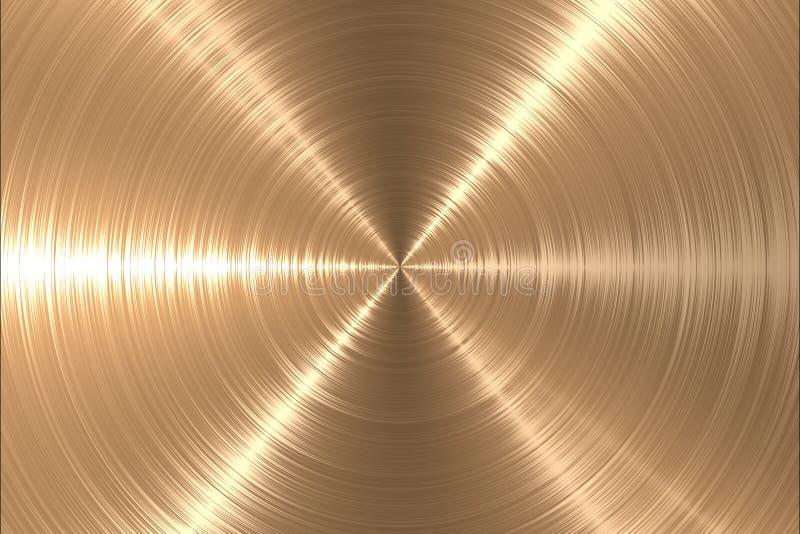 Oro del metallo royalty illustrazione gratis