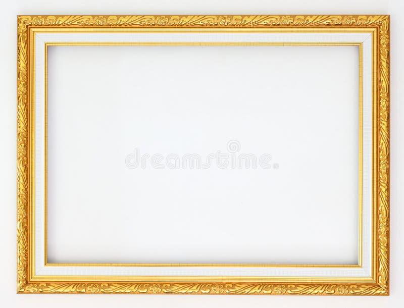 Oro della pagina fotografia stock