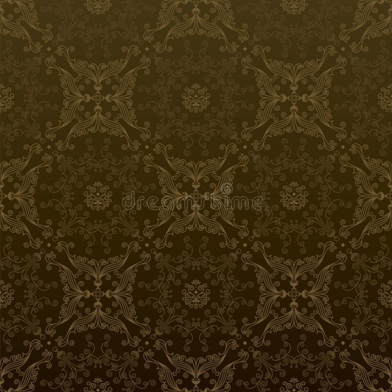 Oro senza giunte illustrazione vettoriale