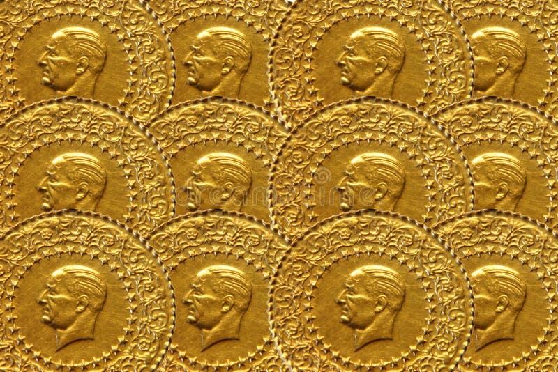 Oro turco foto de archivo libre de regalías