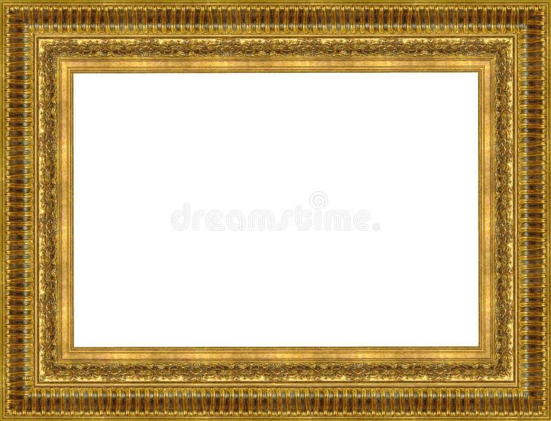 Oro un marco fotos de archivo libres de regalías