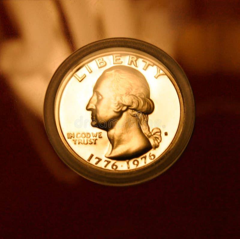 Oro Washington foto de archivo libre de regalías
