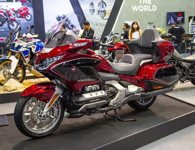 Oro Wing Tour di Honda fotografie stock