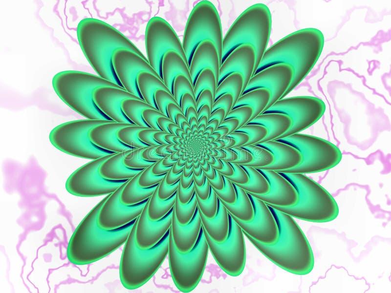 Oroade spiral vektor illustrationer