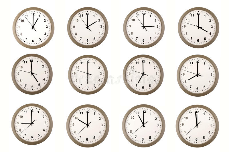 Orologi immagini stock libere da diritti