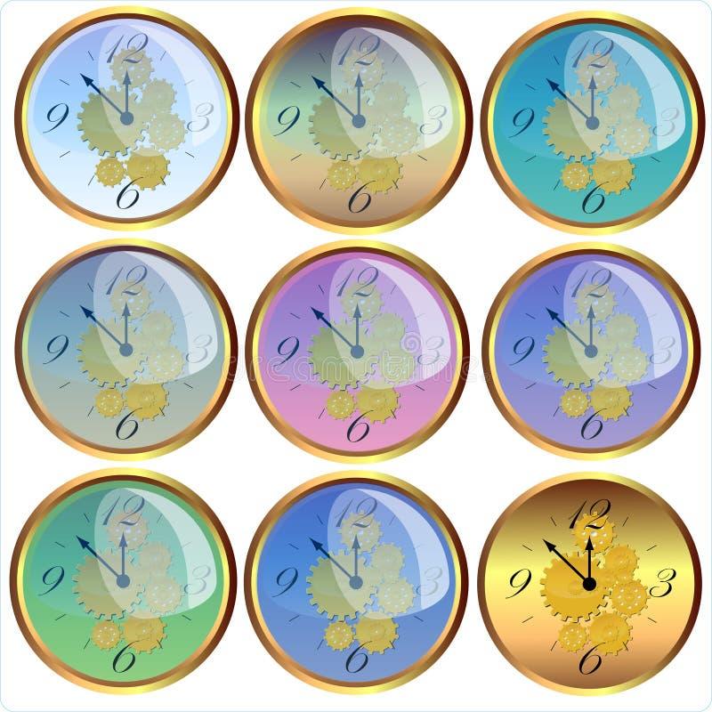 Download Orologio illustrazione di stock. Illustrazione di strumento - 7321062