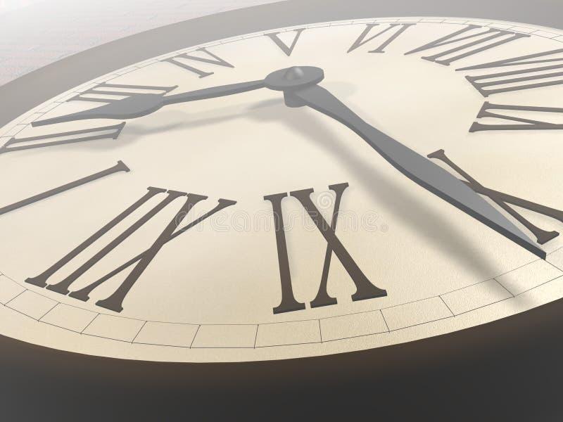 Orologio illustrazione vettoriale