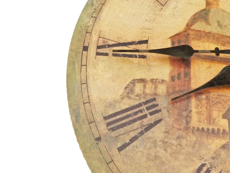 Orologio antico fotografia stock libera da diritti
