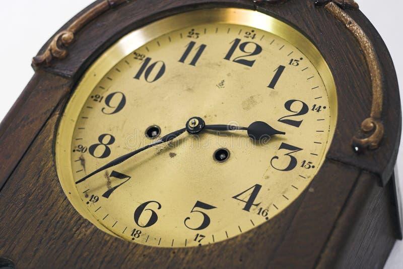 Orologio antico II immagini stock