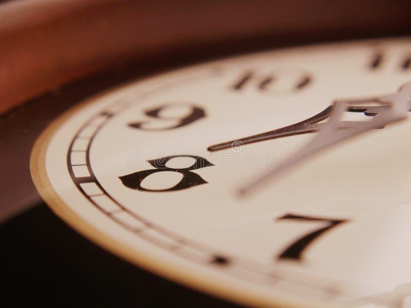 Orologio antico orizzontale fotografie stock