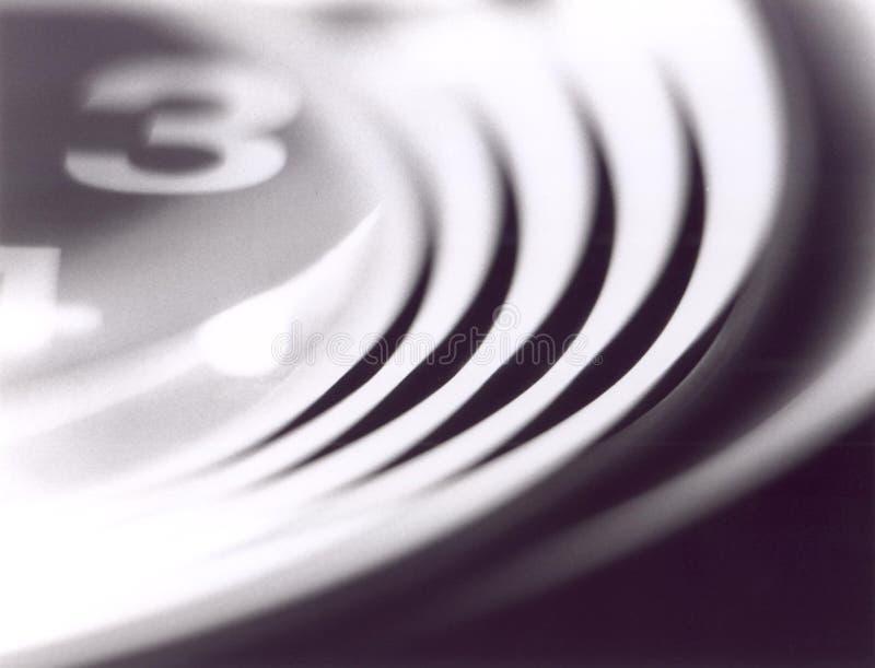 Orologio astratto immagini stock