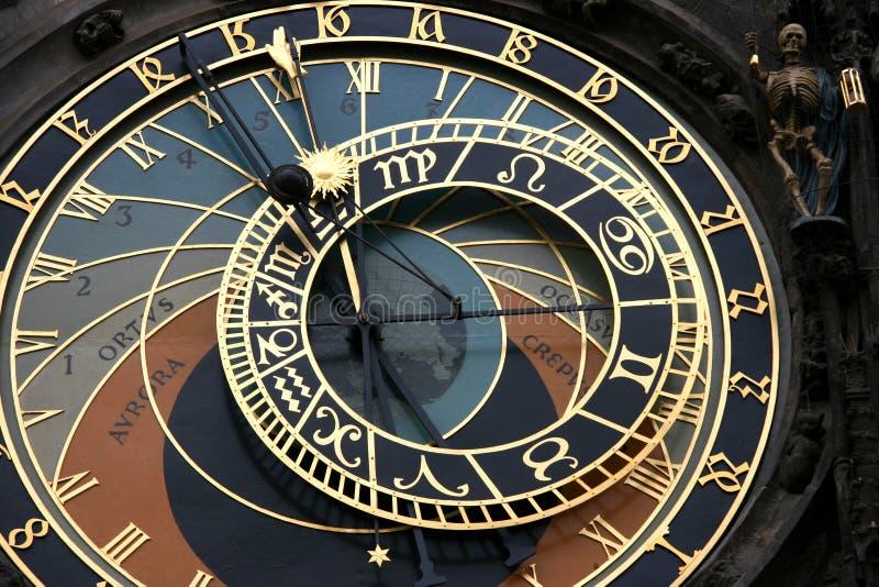 Orologio astronomico fotografie stock libere da diritti