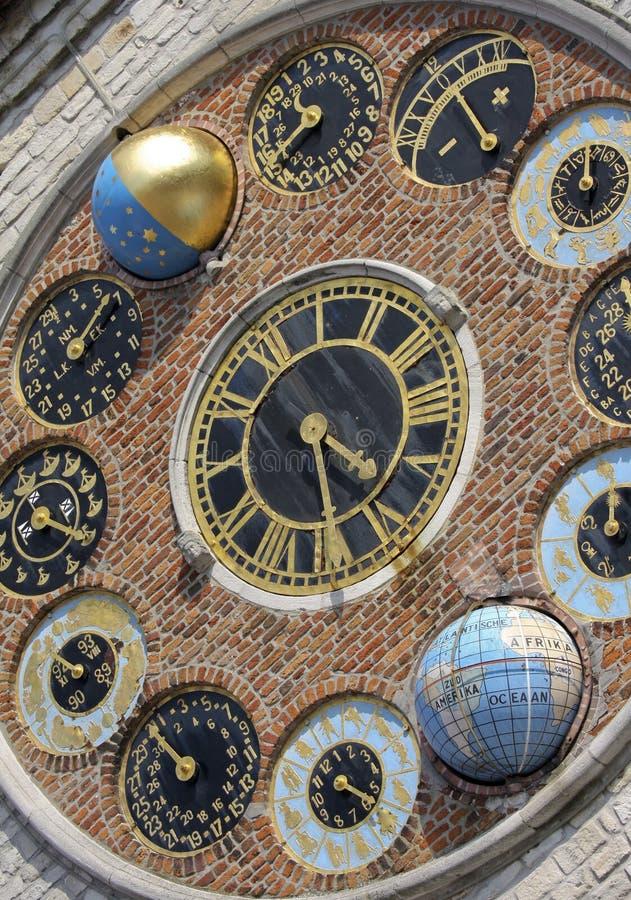Orologio astronomico immagine stock