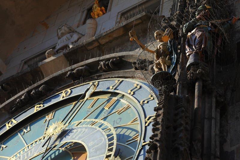 Orologio Astronomico Praga Fotografia Stock