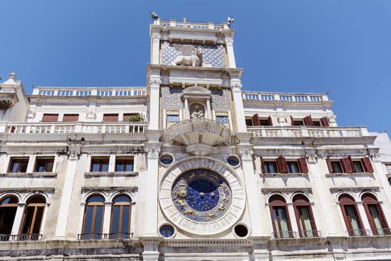 Orologio astronomico, Venezia, Italia fotografie stock