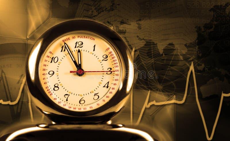 Orologio dei Puls immagini stock