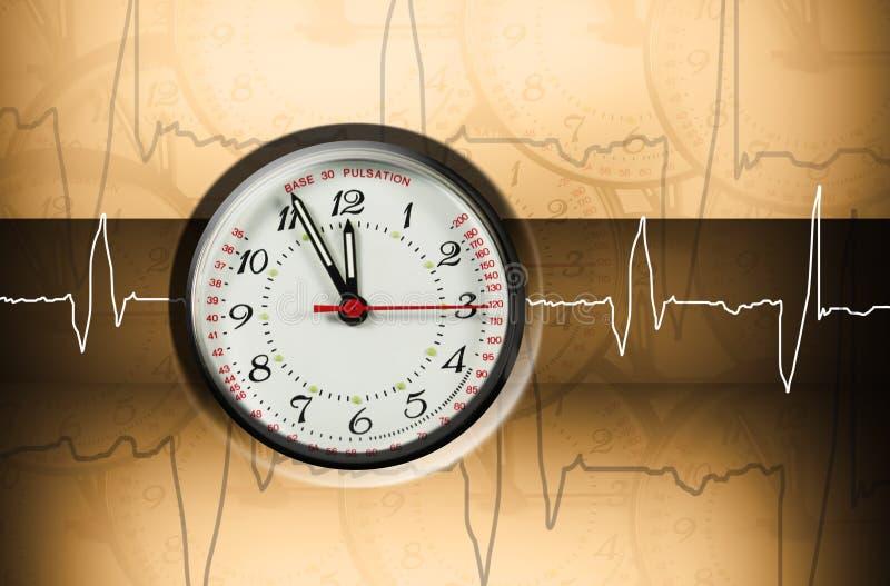 Orologio dei Puls fotografie stock