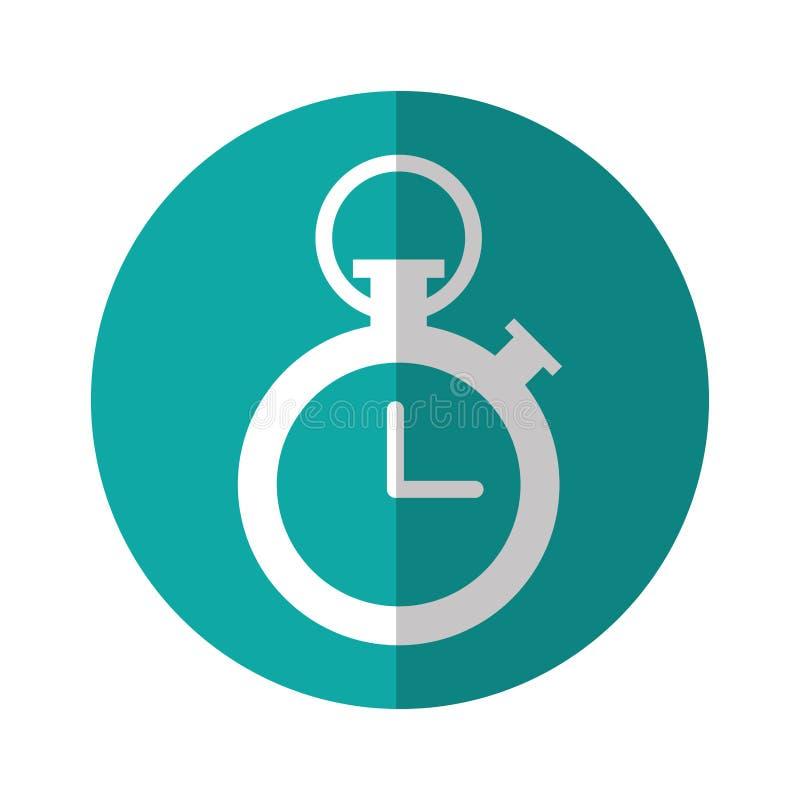 Orologio del temporizzatore di sport royalty illustrazione gratis