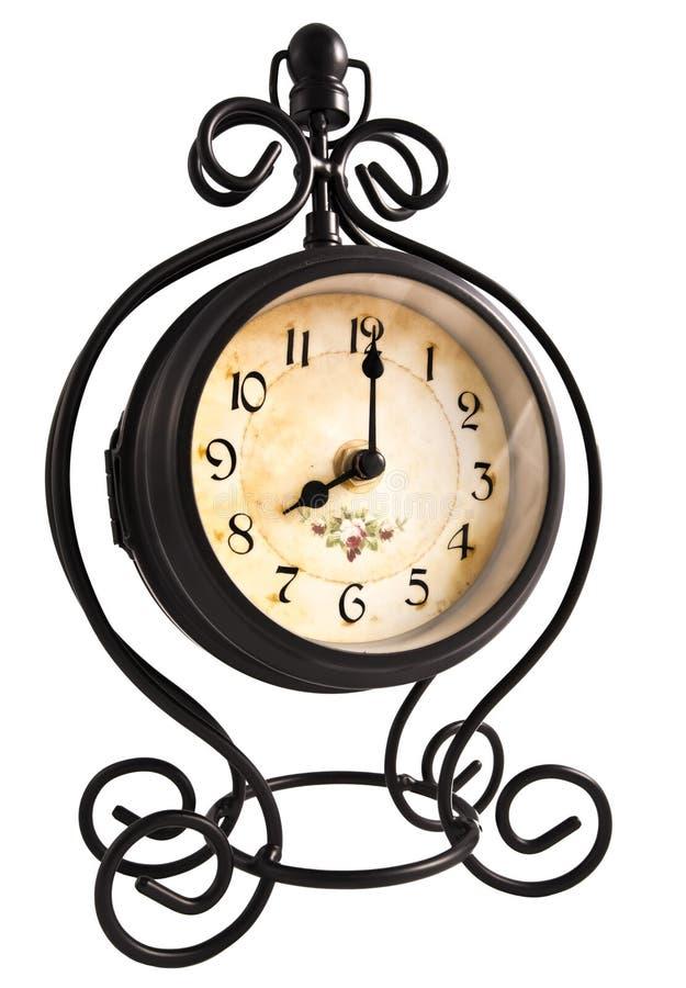 Orologio dell'annata fotografie stock libere da diritti