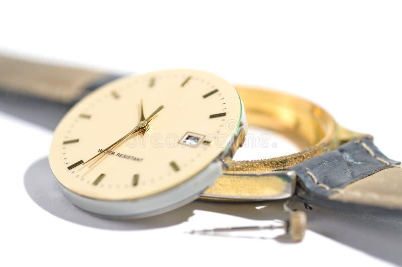 Orologio della correzione fotografia stock
