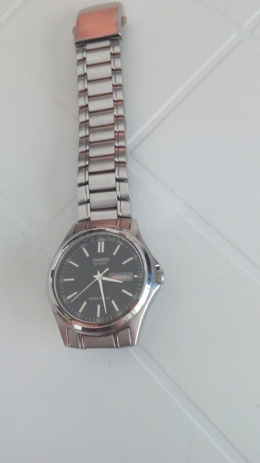 Orologio di Casio fotografia stock