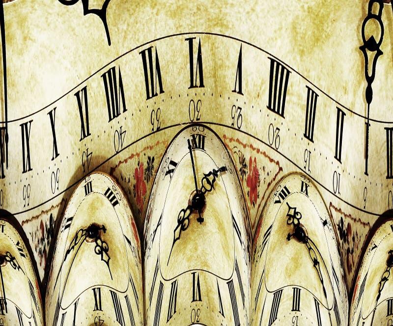 Orologio di Grunge fotografia stock libera da diritti