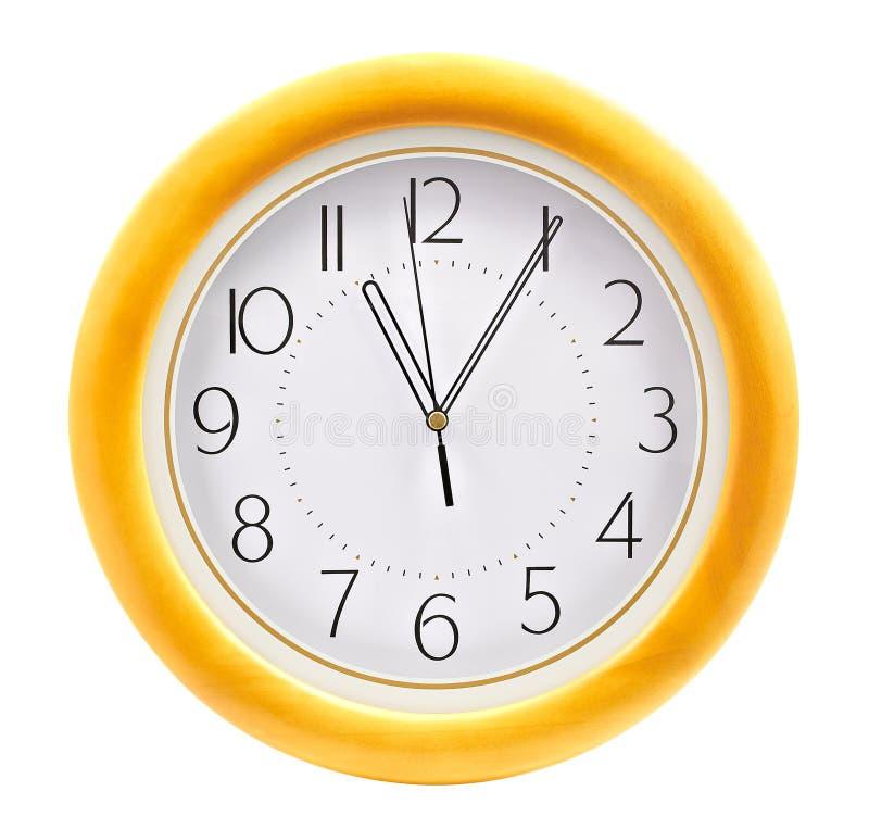 Orologio di parete immagine stock libera da diritti
