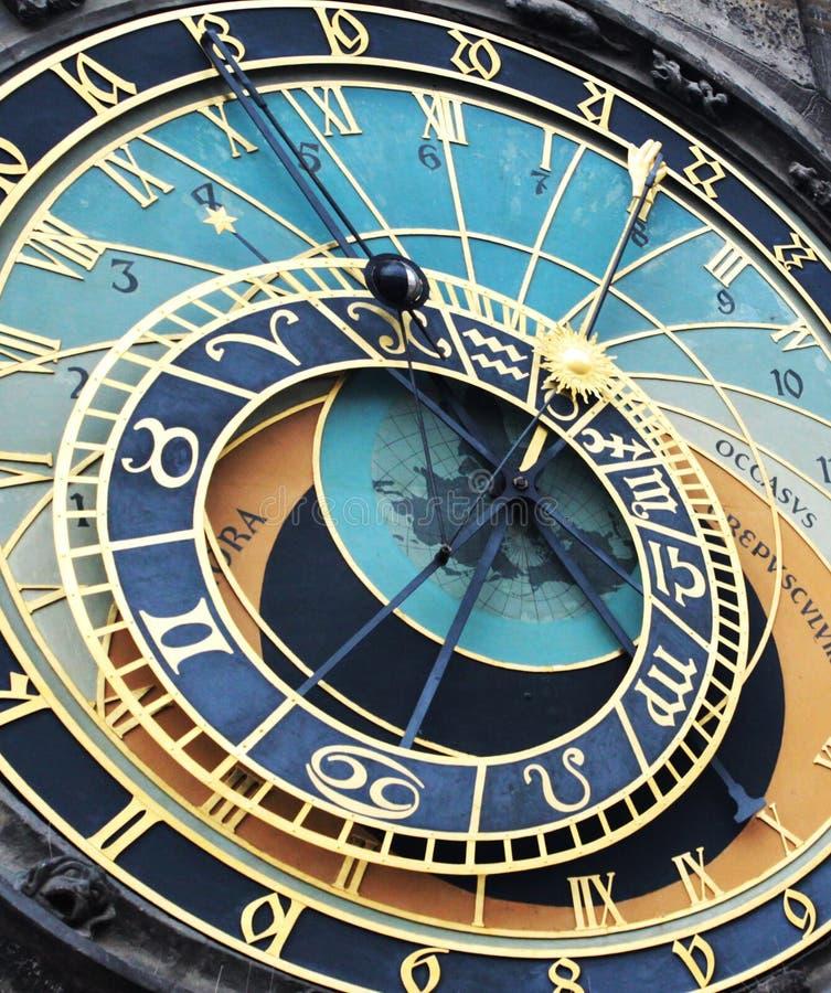Orologio di Praga fotografia stock libera da diritti