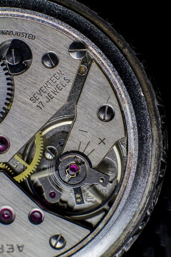 Orologio di scheletro immagini stock