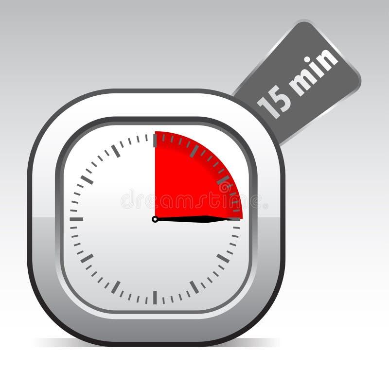 Orologio di vettore illustrazione di stock