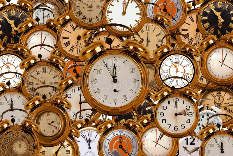 Orologio, orologio, accessori domestici, metallo