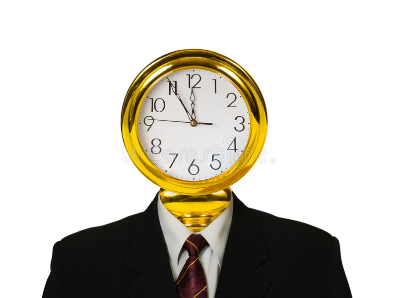 Download Orologio per la testa immagine stock. Immagine di appuntamento - 7303437