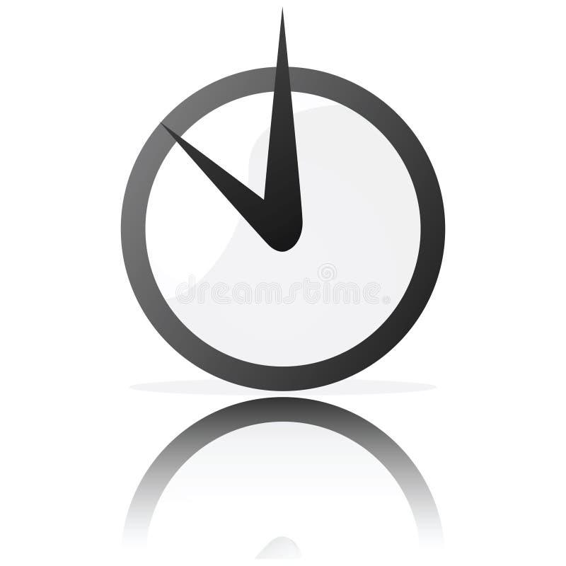 Orologio stilizzato royalty illustrazione gratis
