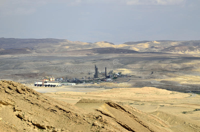 Oron Plant In Negev, Israel Stock Photo