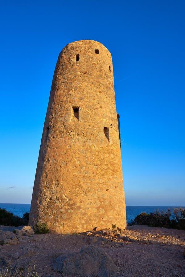 Oropesa DE Mar Torre de toren van La Corda royalty-vrije stock foto