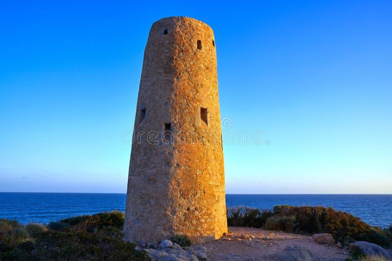 Oropesa DE Mar Torre de toren van La Corda stock fotografie
