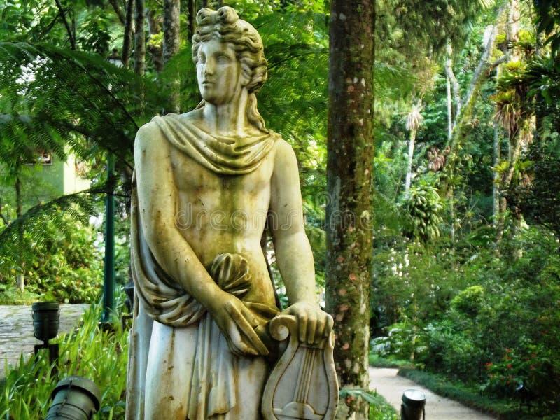 Orpheus-Skulptur stockbild