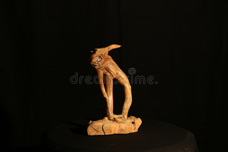 Orque en bois image libre de droits