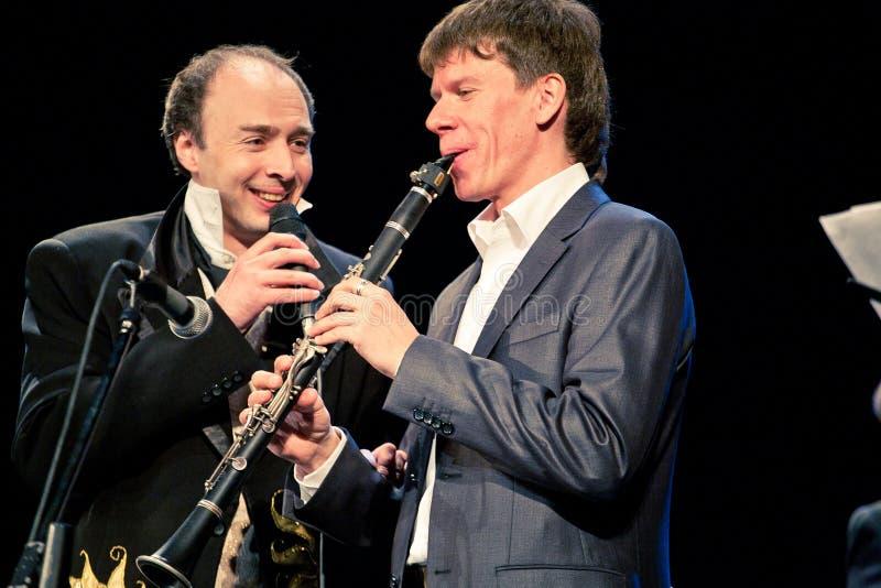 Orquestra de Khoronko em Sevastopol, Ucrânia imagem de stock royalty free