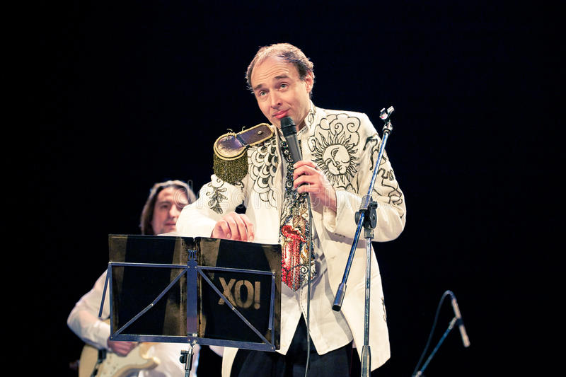 Orquestra de Khoronko em Sevastopol, Ucrânia imagens de stock