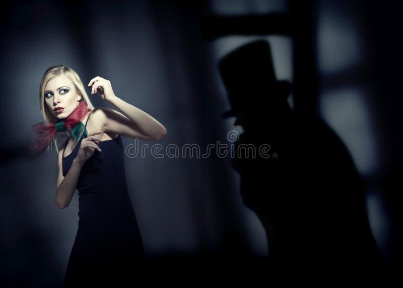 Orrore fotografia stock libera da diritti