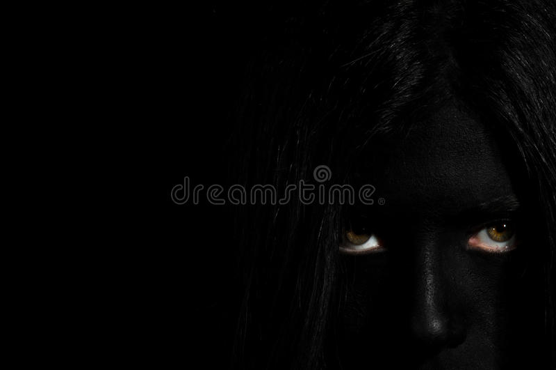 Orrore - Freaky fotografia stock libera da diritti