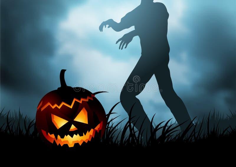 Orrore inesprimibile - 31 ottobre royalty illustrazione gratis