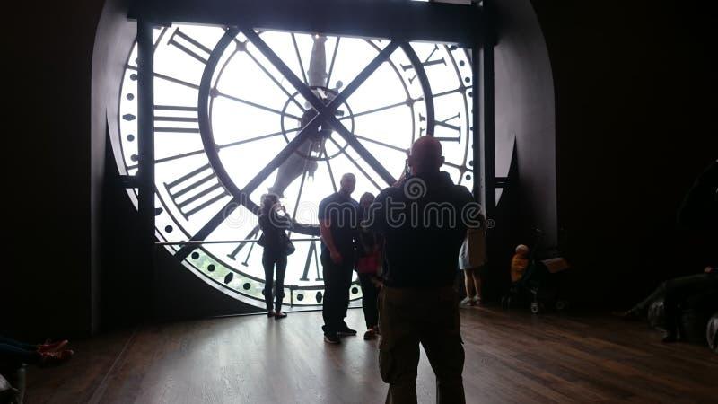orsay的博物馆 免版税库存图片