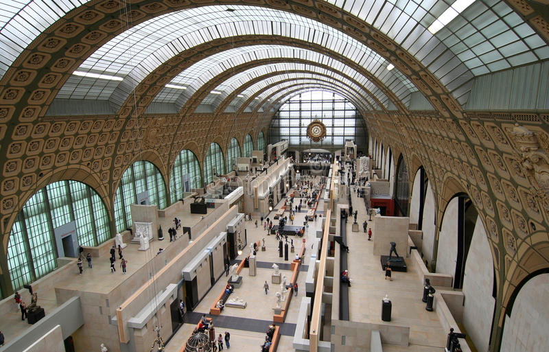orsay D musee zdjęcie royalty free